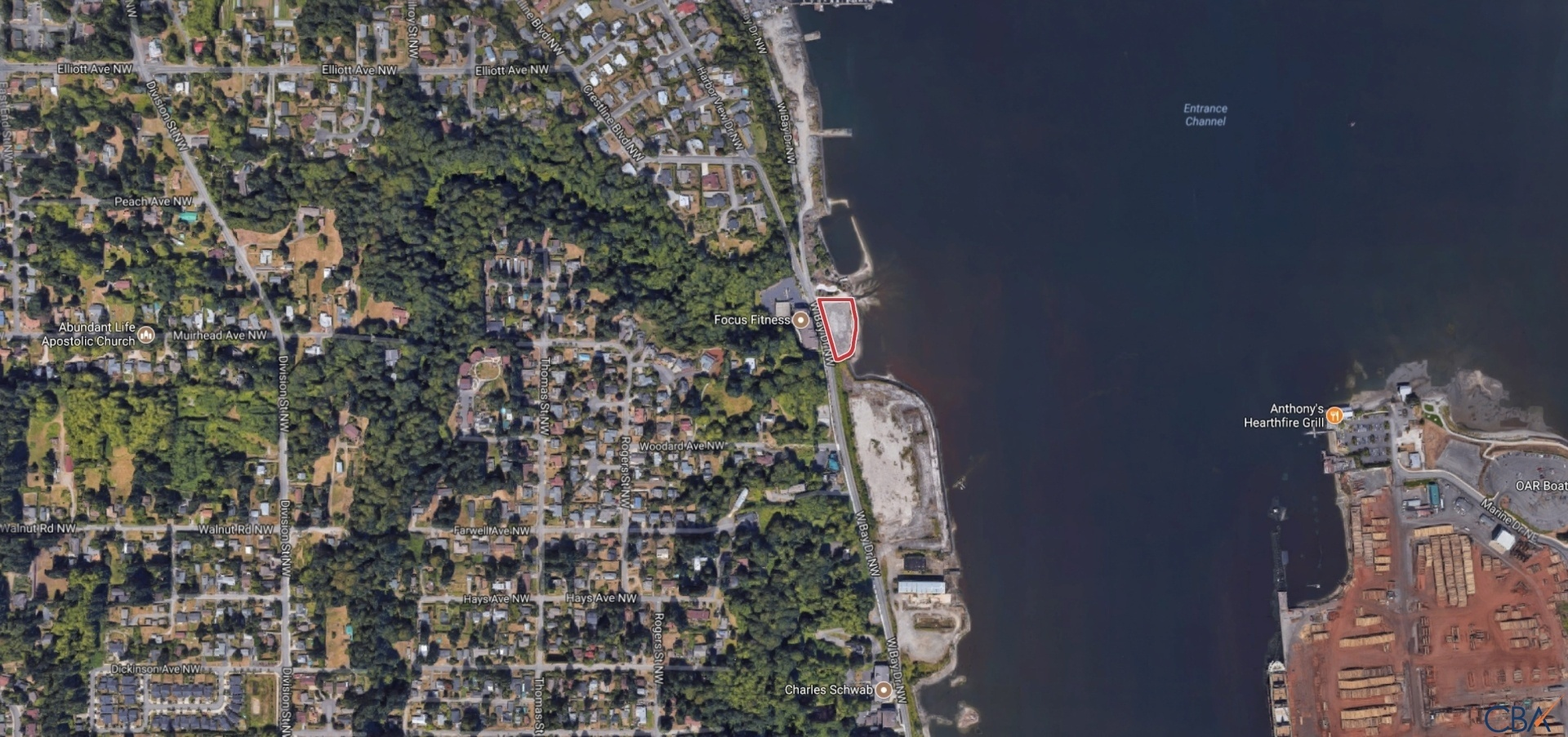 Olympia Waterfront Development Site