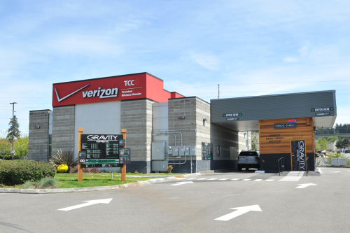 Verizon Wireless & Gravity Coffee - Federal Way