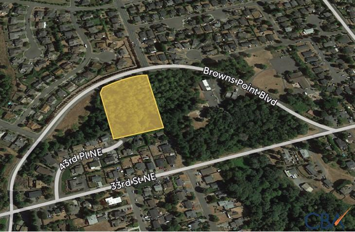 Browns Point Boulevard Development Site
