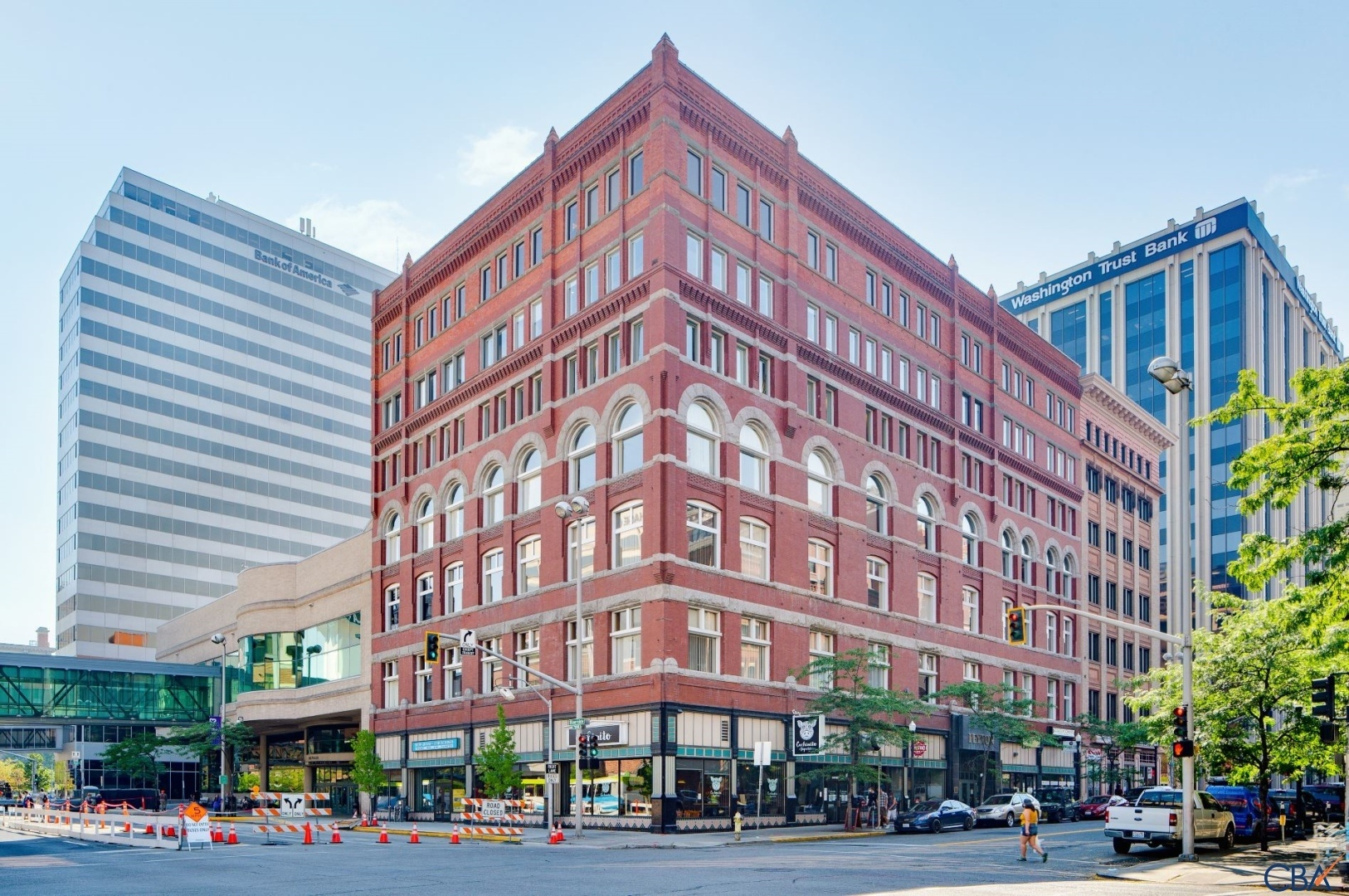-Building in 1913 and remodeled in 2001 & 2020-Located in Spokane's Central Business District-Premier location-Adjacent to the Historic Davenport Hotel, Washington Trust Bank, STA, Hotel Lusso and SRBC