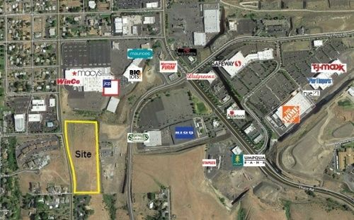 6+/- Acres of high visibility commercial land adjacent to Lewiston's retail hub.Adjacent to Lewiston' s national retail hub on 17th Lot divisible into two 3 acre piecesUtilities all to site.
