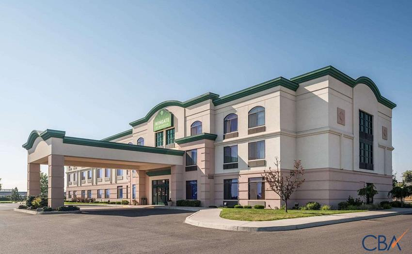 Wingate by Wyndham Spokane Airport is an 83 key, select-service, midscale, franchise hotel. The property features a lobby with a seating area, breakfast area, and convenience store/sundries mart, guest laundry, gym/fitness center, indoor recreation room, and an outdoor seasonal pool. ~1000 sq.ft. of meeting & event space, as well as a business center, is available for business guests.The guest room mix includes a selection of Queen Double, King Single, King Suites, and ADA (Mobility Accessible) rooms. Room amenities include non-smoking guest rooms, free WiFi, a flat-screen TV with premium movie channels, desk, coffee maker, hairdryer, iron, and ironing board.
